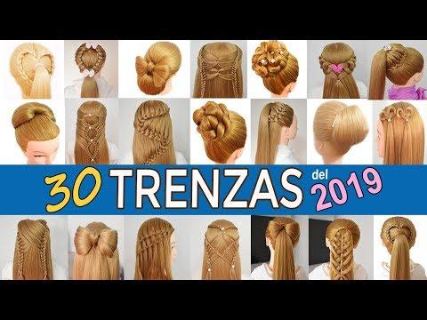 30 PEINADOS FACILES Y RAPIDOS Con TRENZAS Para NIÑAS De GRADUACIÓN - FIESTAS 2019