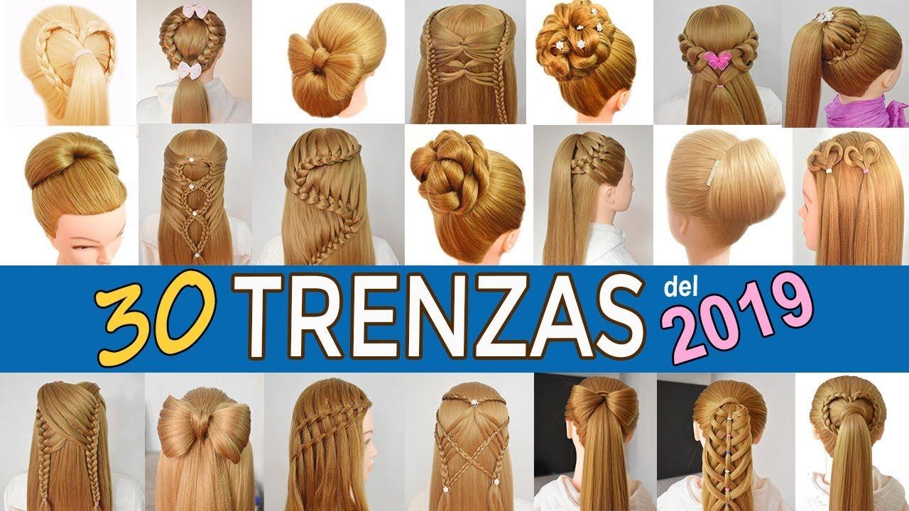 30 Peinados Faciles Y Rapidos Con Trenzas Para Ninas De Graduacion
