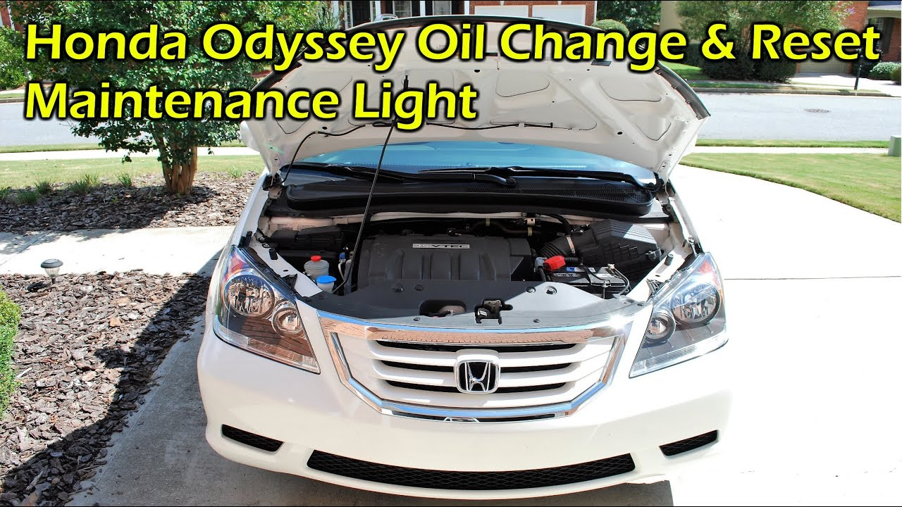 Superb Honda Odyssey Oil Change (2007 2010)   YouTube