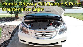 Honda Odyssey Oil Change (2007-2010)