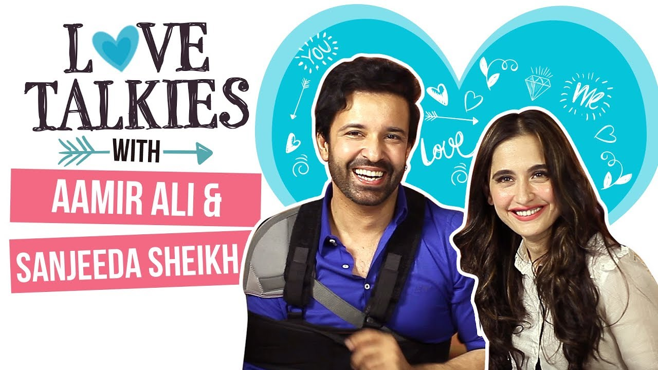 Aamir Ali and Sanjeeda Sheikh and their romance-e-mohabbat | Love Talkies | Pinkvilla