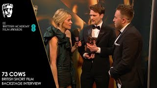Winners React to BAFTA for British Short Film for 73 Cows | EE BAFTA Film Awards 2019