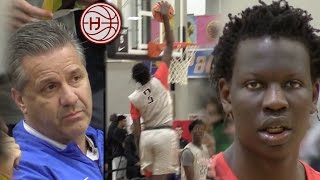 Bol Bol Drops 35 in Front of Coach Calipari!! EYBL Session 2!