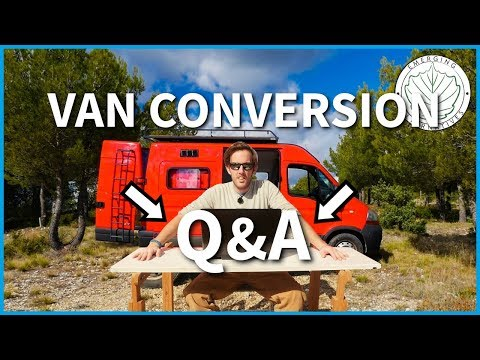 Camper van DIY Conversion Q&A (Heater, Toilet, Electrical, Parking, Humidity, Safety)