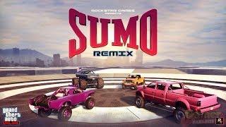 Grand Theft Auto V modo adversario Sumo remix IV (PARTE 5)
