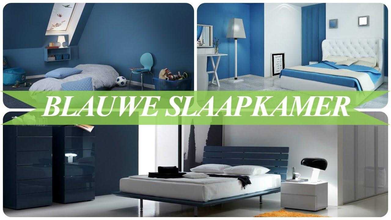 Blauwe slaapkamer - YouTube
