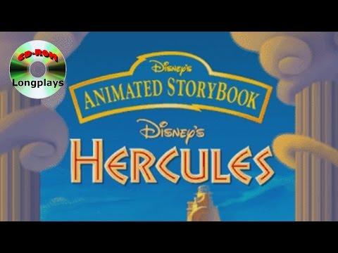 Disney's Animated Storybook - Hercules (CD-ROM Longplay #37)