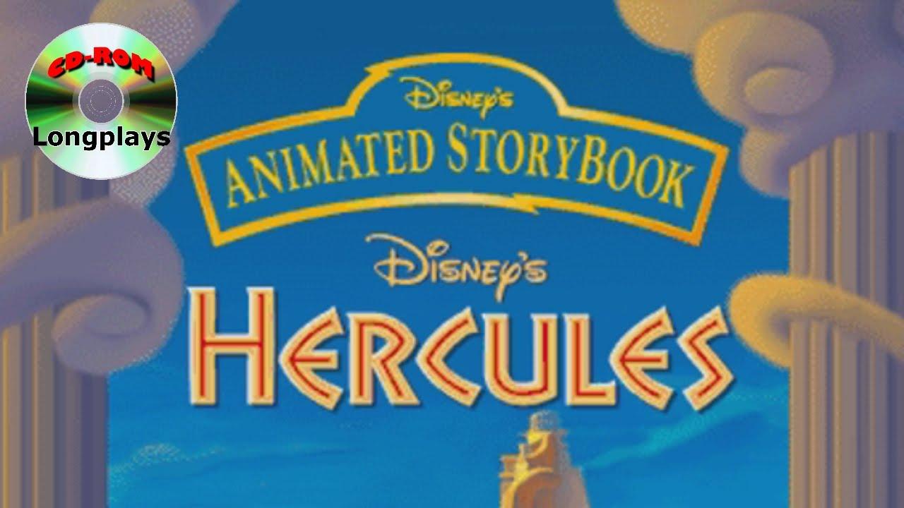 Disney39s Animated Storybook Hercules Cd Rom Longplay