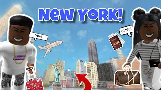 ME AND MY SIS GOES TO NEW YORK CITY! (TRAVEL VLOGS)