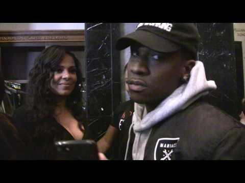 TravQue interrupts Sanaa Lathan's interview