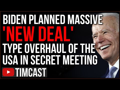 Biden Plans Rapidly Re-Engineering America In Secret Meeting, Democrats Plan MASSIVE Far Left Push