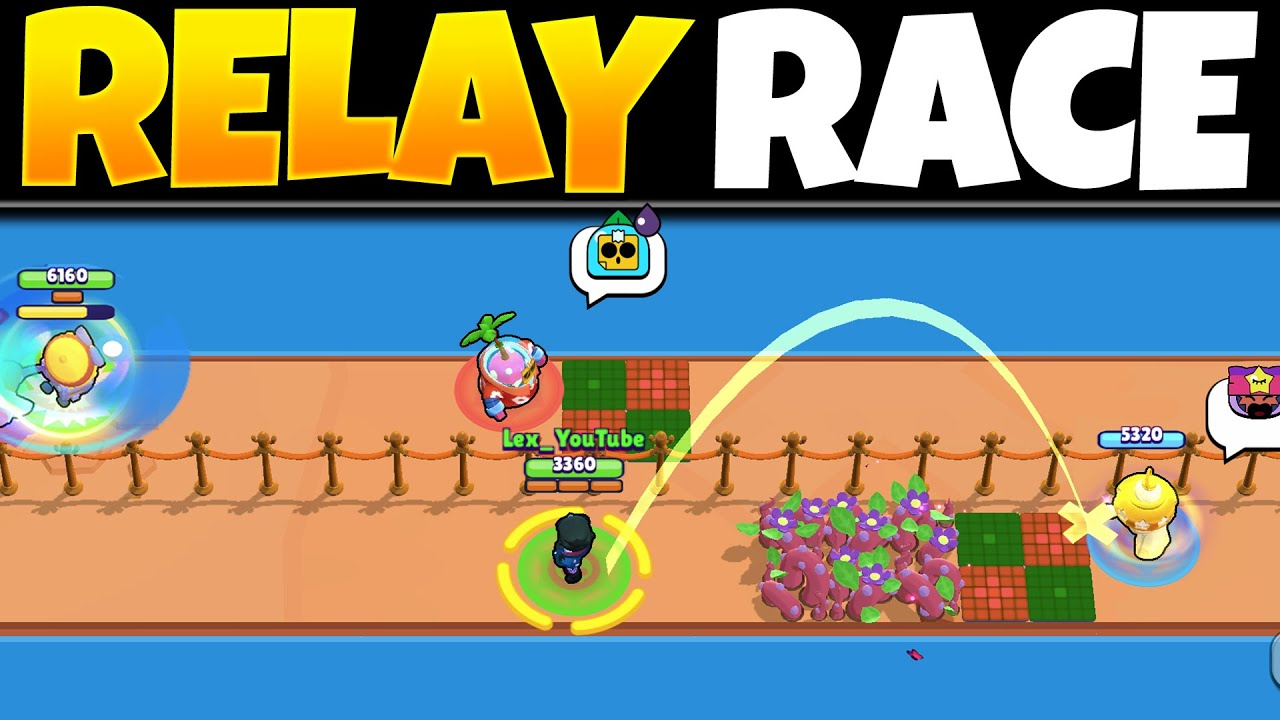 EVERY Brawler Team Relay Race! | Who Is The FASTEST DUO In Brawl Stars?
