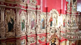 Мгарский Спасо-Преображенский монастырь март 2014.(Апостольский ряд., 2014-04-10T07:24:13.000Z)