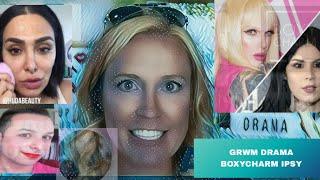 GRWM with Jeffree Star Kat VonD Huda Mango Tea Boxycharm ipsy & Giveaway