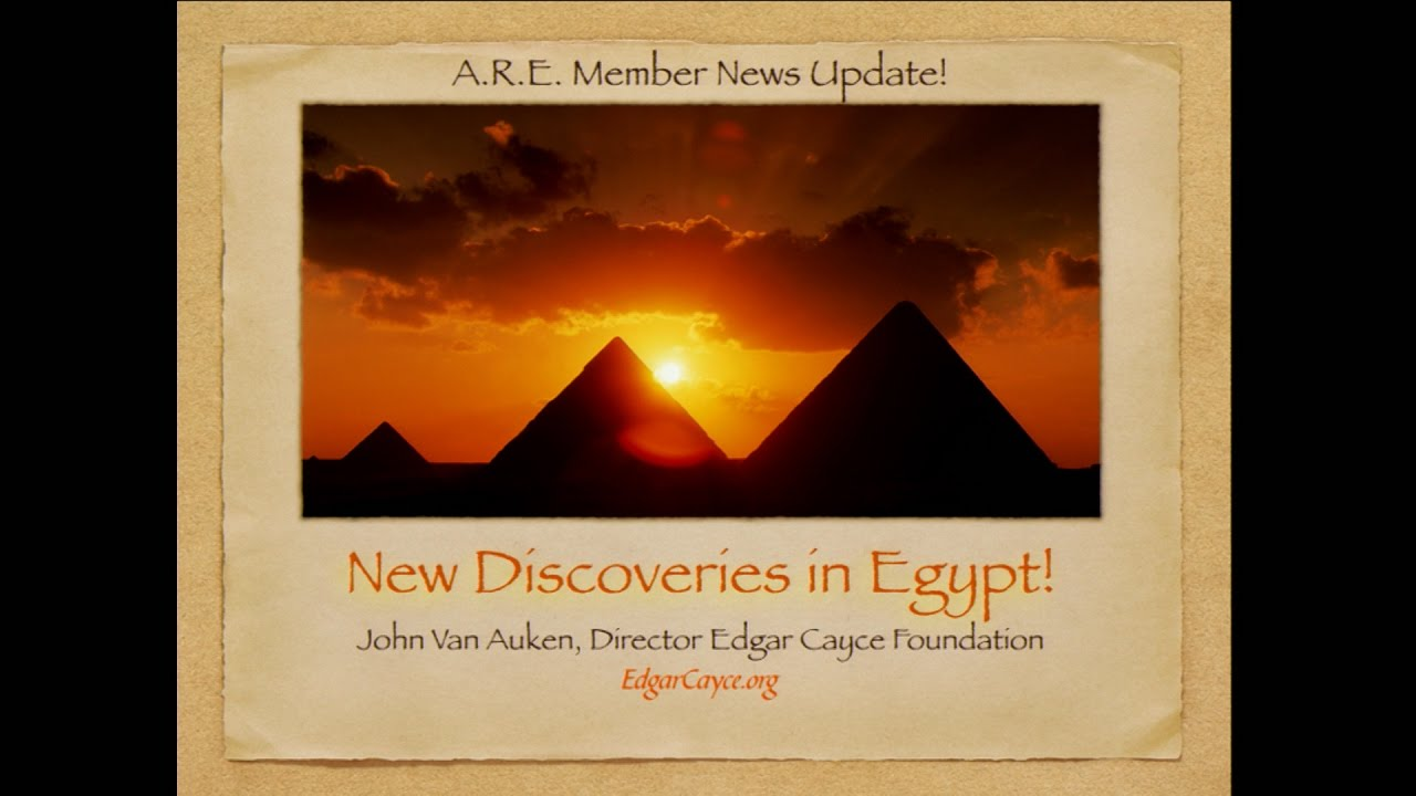 New Chambers Found in Great Pyramid! | Edgar Cayce's A R E