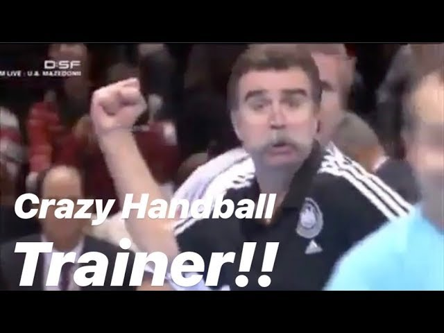 || HANDBALL TRAINER GETTING CRAZY!! ||