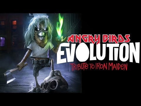 Angry Birds Evolution - Tribute to Iron Maiden