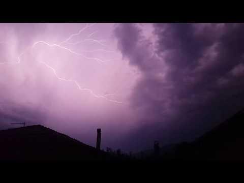 Lightning Storm in greece [LARISA]