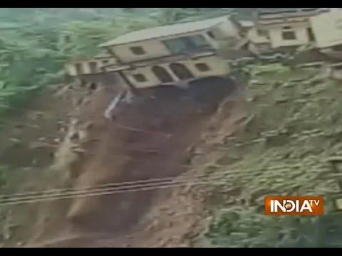 Heavy rains, landslide in Uttarakhand   India Tv