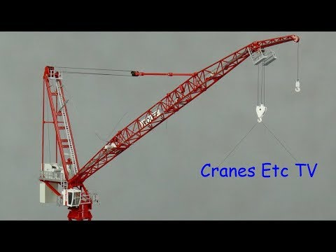 Conrad Wolff 700 B Tower Crane by Cranes Etc TV