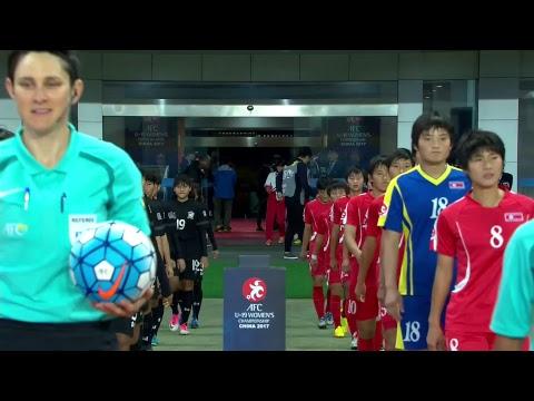 DPR Korea vs Thailand (AFC U-19 Women's Championship)