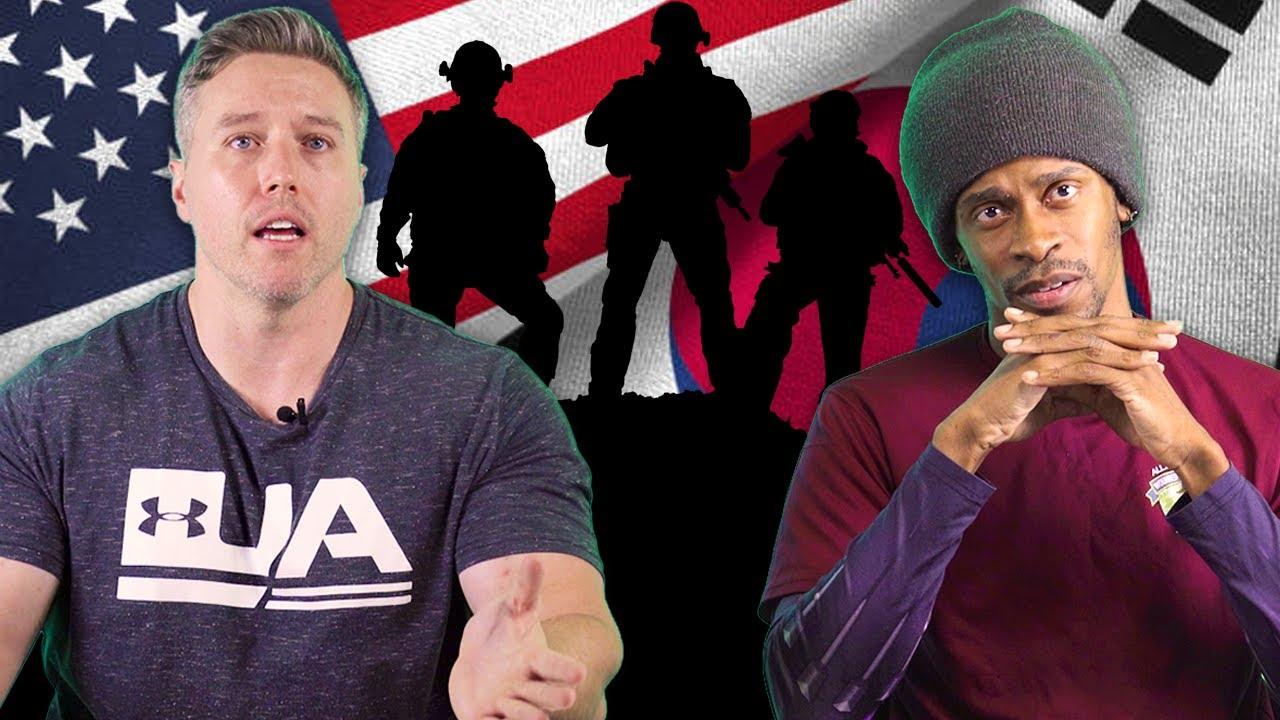실제 미국 참전 용사들이 말하는 한국과 미국의 군대 차이 (feat. 미공군, 미해병대) | PART 2