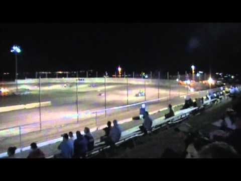 Shelton Motorsports Prescott Valley Raceway Sprint Cars A-Main 6-18-11