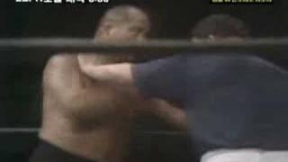大木金太郎vsアントニオ猪木の35年前のクラシックマッチ(1974年)で...