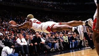Dennis Rodman Top 10 Career Plays