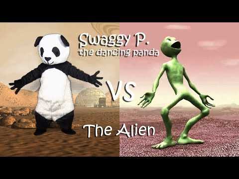 Dame Tu Cosita  (Alien Dance) And Fortnite Dance Challenge By Dancing Panda Swaggy P