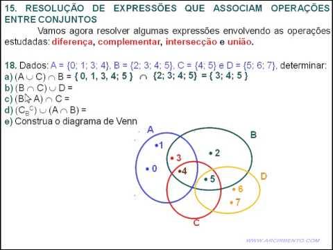24 conjuntos exerccio 18 operaes entre conjuntos youtube 24 conjuntos exerccio 18 operaes entre conjuntos ccuart Choice Image