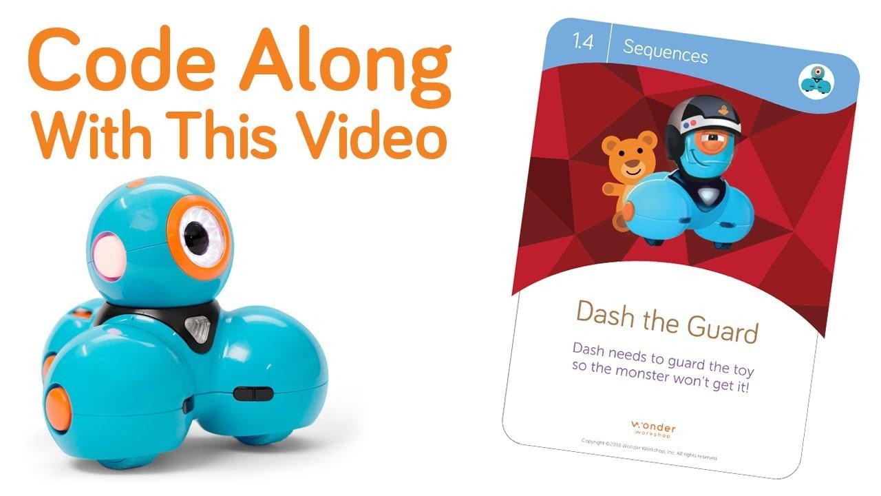 Code Dash Challenge Card 1 4 Wonder Workshop Youtube