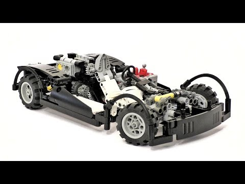 Super Car Lego Technic Instructions