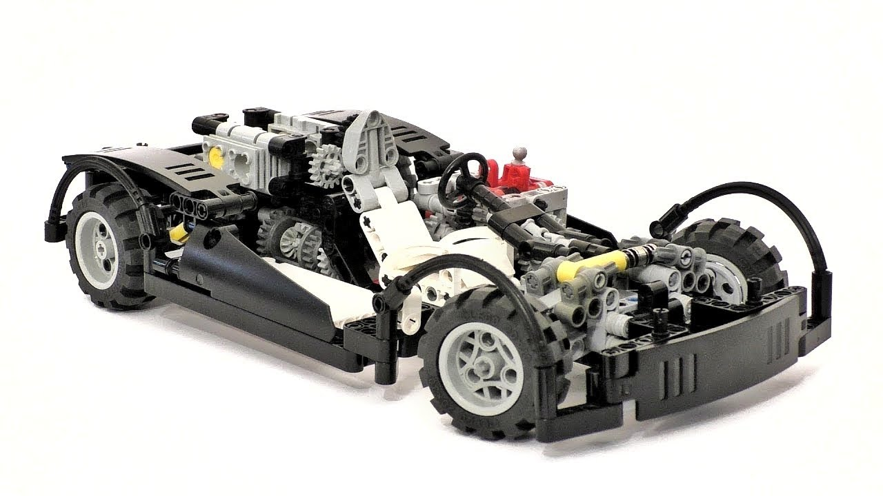 lego technic supercar chassis instructions lego technic mastery youtube. Black Bedroom Furniture Sets. Home Design Ideas