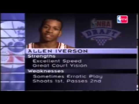 Allen Iverson - NBA Draft 1996