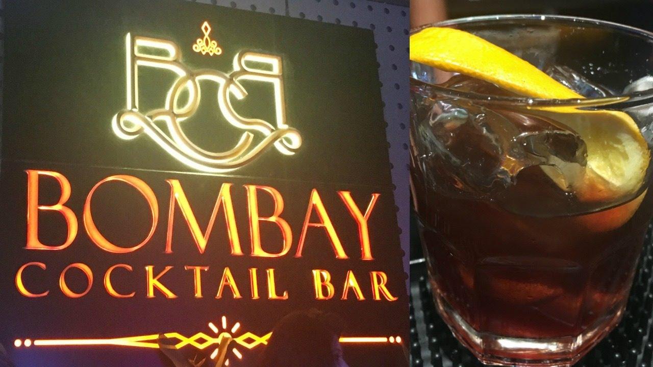 Bombay Cocktail Bar   Mumbai Night Life - YouTube