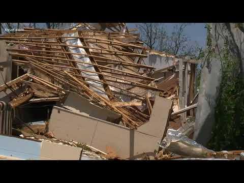 Storm tears through San Saba County