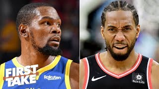 Download Kawhi is the more attractive free agent than Kevin Durant this summer - Max Kellerman | First Take Mp3 and Videos