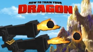 Minecraft - HOW TO TRAIN YOUR DRAGON 2 - [14] 'Defend the Island'