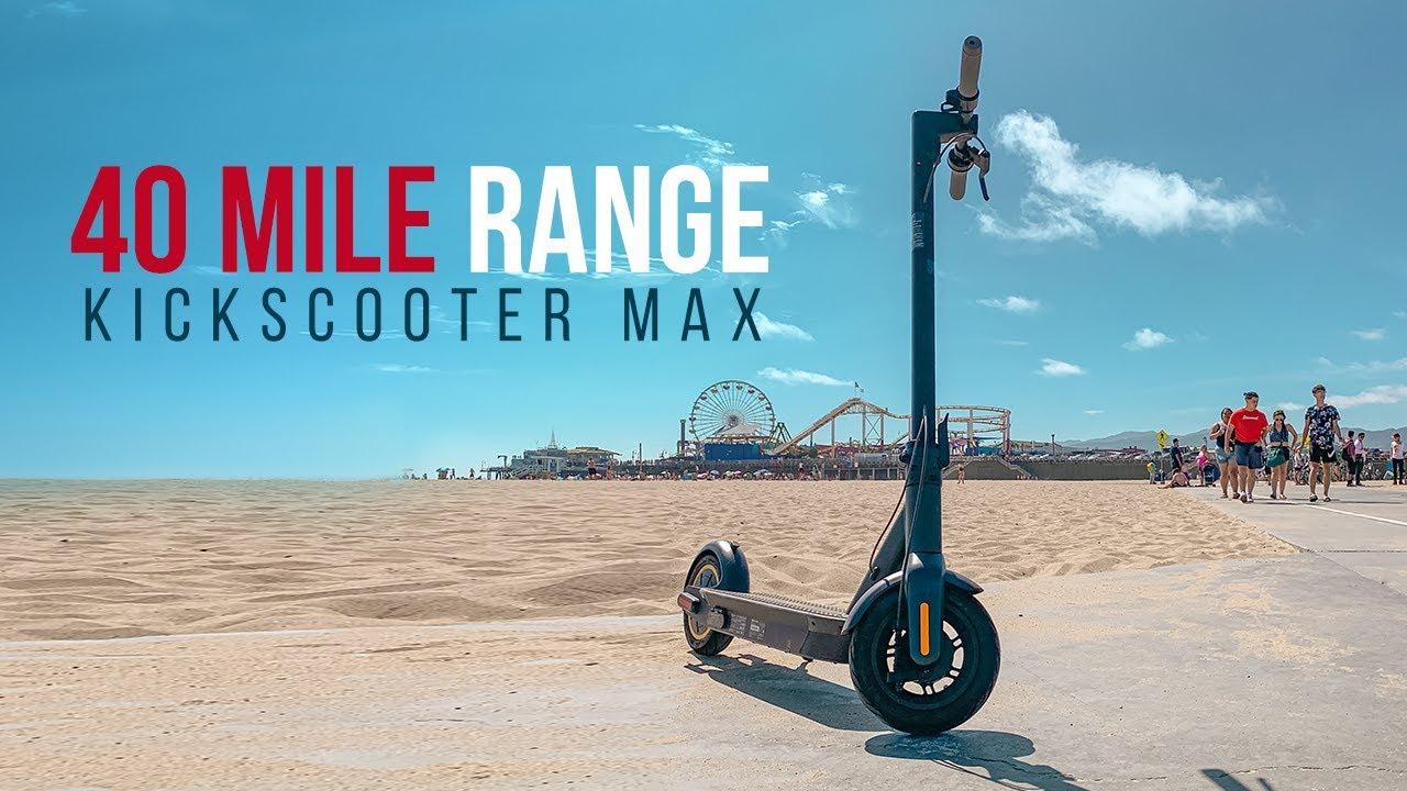 Ninebot MAX vs Xiaomi Scooter PRO - Comparison