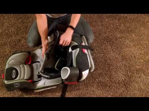 Graco Nautlius 65 – Adjust Shoulder Straps in 3 minutes!