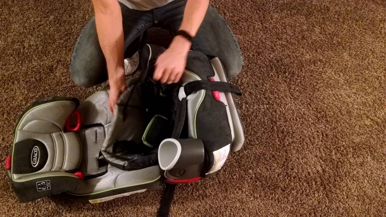 Graco Nautlius 65 - Adjust Shoulder Straps in 3 minutes! - YouTube