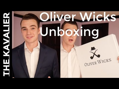 Unboxing My First Custom Suit || Oliver Wick's Made to Measu