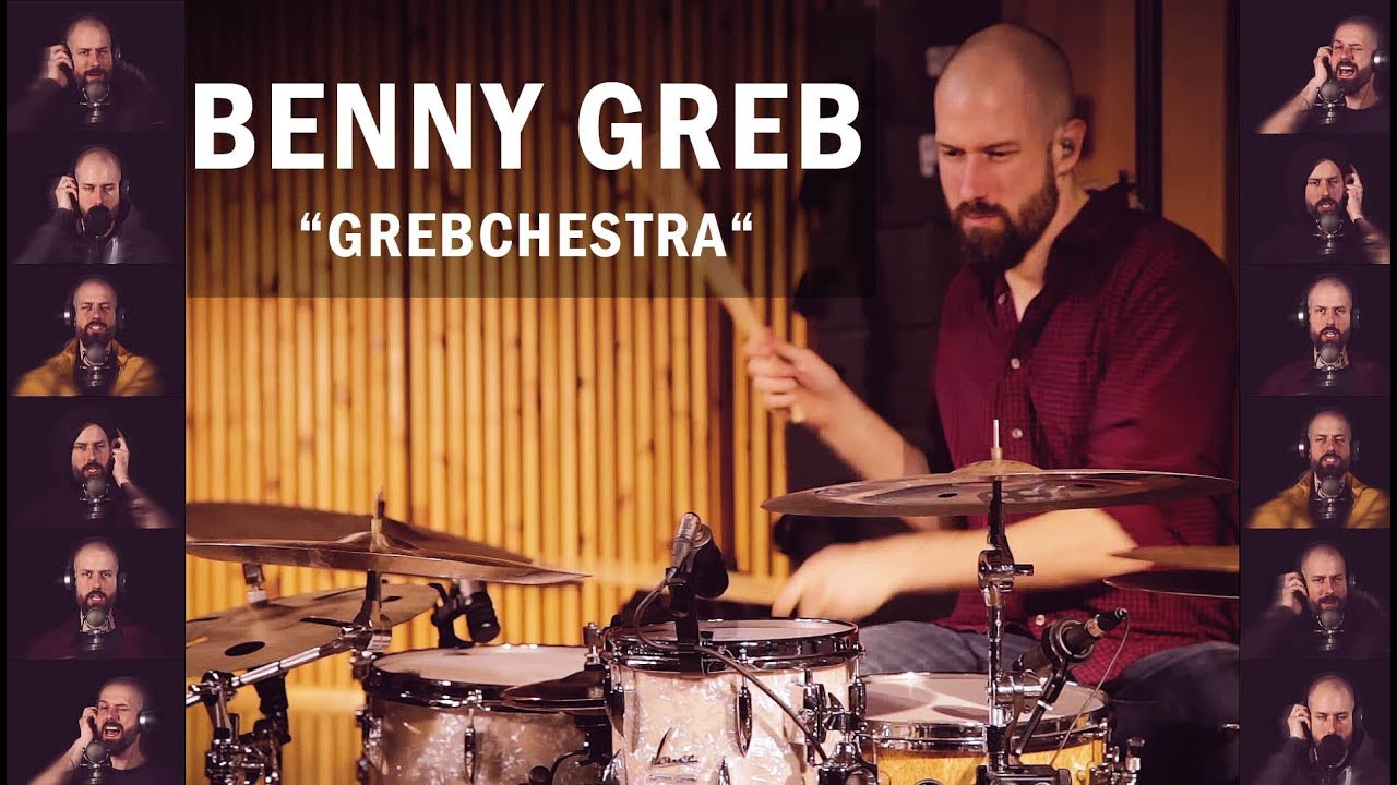 """Download Meinl Cymbals – Benny Greb """"Grebchestra"""""""