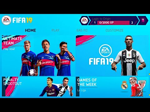 6b6a0704093 FIFA 19 MOD FIFA 14 Android Offline New Kit,Squad Update - YouTube