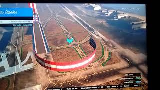 Como fazer sua pista de corrida no GTA V offline(ft!.) (Abram a descrição)
