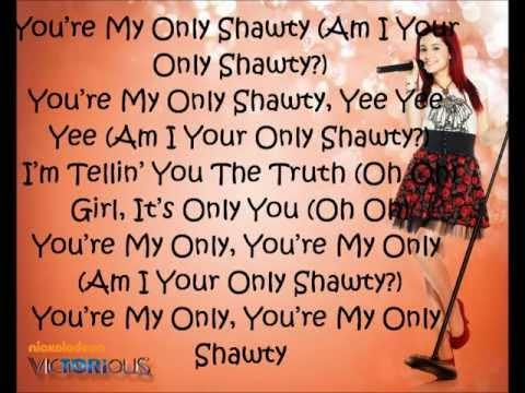 You're My Only Shawty - Ariana Grande ft. Iyaz (lyrics)