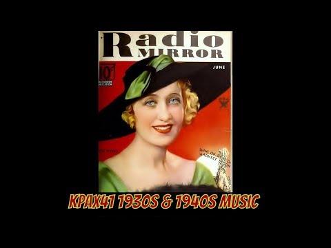 1920s & 1930s Music - Popular Female Singers   @KPAX41