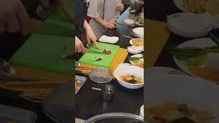 일본가정식-표고버섯 자르기