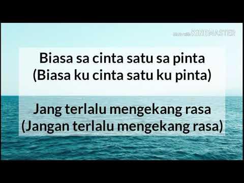 Karna Su Sayang - Near ft Dian Sorowea (Lirik + Terjemahan Indonesia)